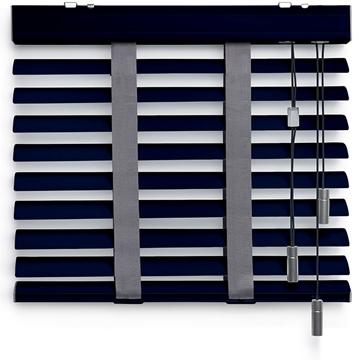 Afbeeldingen van Jaloezieen 50mm Donker blauw