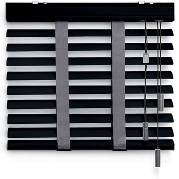 Afbeeldingen van Jaloezieen 50mm Donker grijs