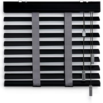 Afbeeldingen van Jaloezieen 50mm Donker grijs Premium