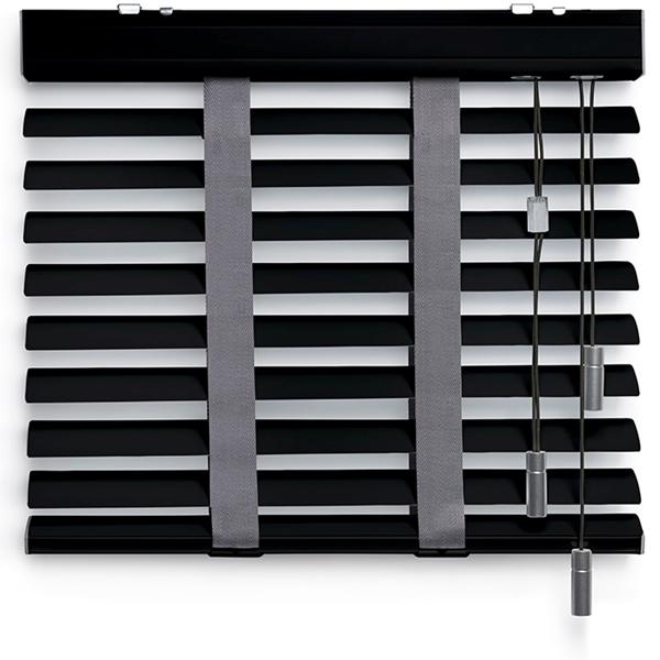 Afbeelding van Jaloezieen 50mm Donker grijs Premium