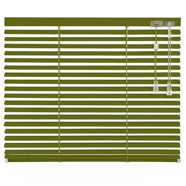 Afbeelding van Jaloezieen 25mm Groen