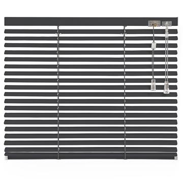 Afbeeldingen van Jaloezieen 25mm Donker grijs