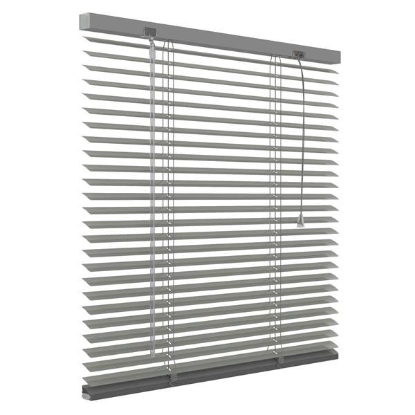 Afbeelding van Standaard maat jaloezie 25mm Donker grijs