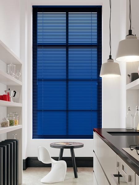 Afbeelding van Jaloezie Aluminium 25mm Blauw DEC25102