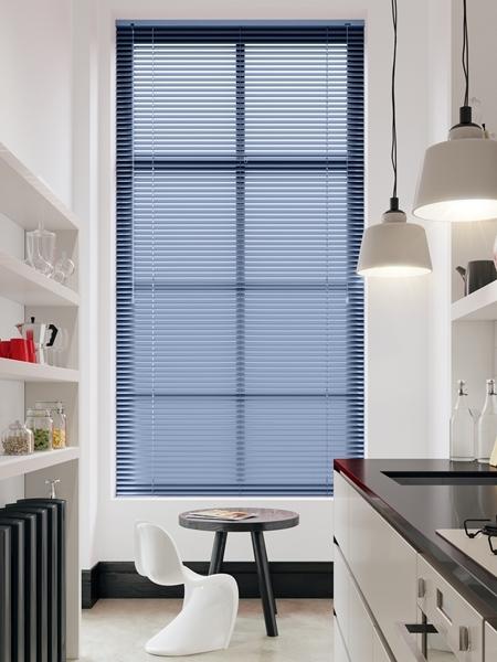Afbeelding van Jaloezie Aluminium 25mm Lichtblauw DEC25104