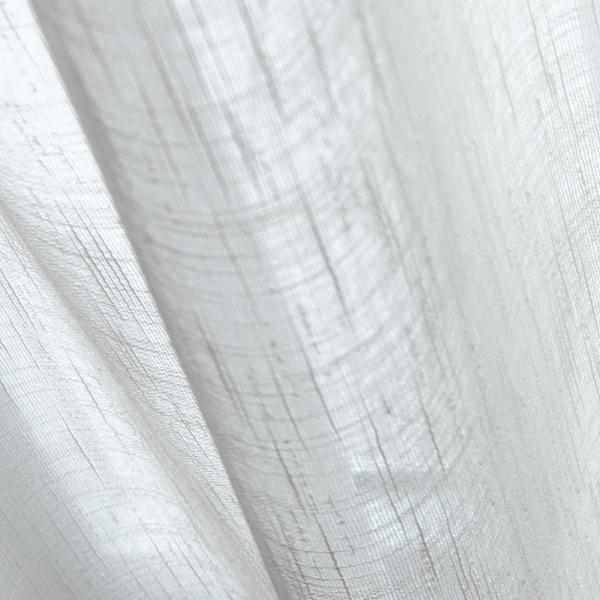 Afbeelding van Vitrage gordijn op maat Ivoor wit - Ceylon