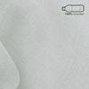 Afbeelding van Vitrage gordijn op maat Licht grijs - Utah