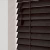 Afbeelding van Jaloezie Hout 25mm Zwart DEC25044