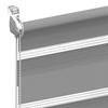 Duo rolgordijn voor kiep-kantel raam op maat systeem