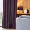 gordijnen paars slaapkamer