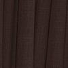 Afbeelding van Vouwgordijn op maat verduisterend Donder bruin - California