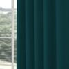 Afbeelding van Overgordijnen op maat Linnenlook Turquoise - Volosity