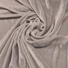 Afbeelding van Vouwgordijn velours op maat Licht grijs - Naples