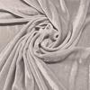 Afbeelding van Vouwgordijn velours op maat Light grey - Naples