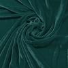 Afbeelding van Vouwgordijn velours op maat Smaragd groen - Naples