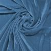 Afbeelding van Vouwgordijn velours op maat Licht blauw - Naples