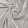 Afbeelding van Vouwgordijn velours op maat Wit - Naples