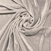 Afbeelding van Vouwgordijn velours op maat Beige - Naples