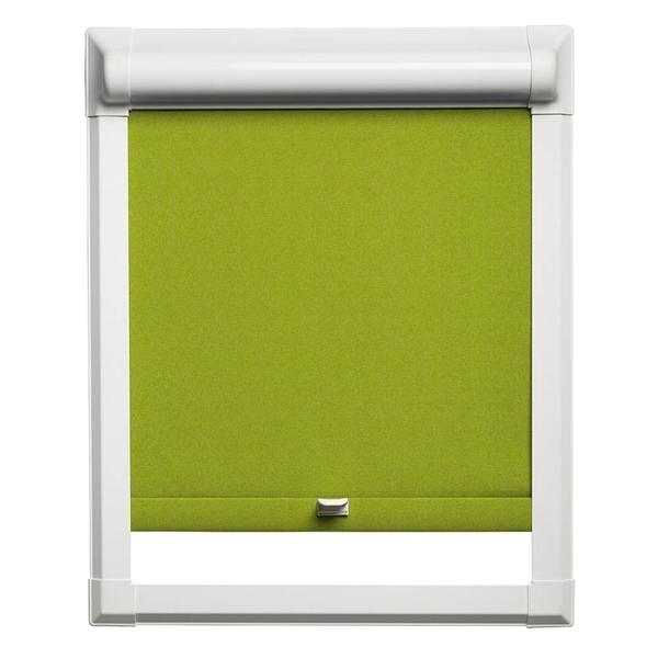 Afbeelding van Rolgordijn klik en klaar smartfit semi-transparant - Limegroen
