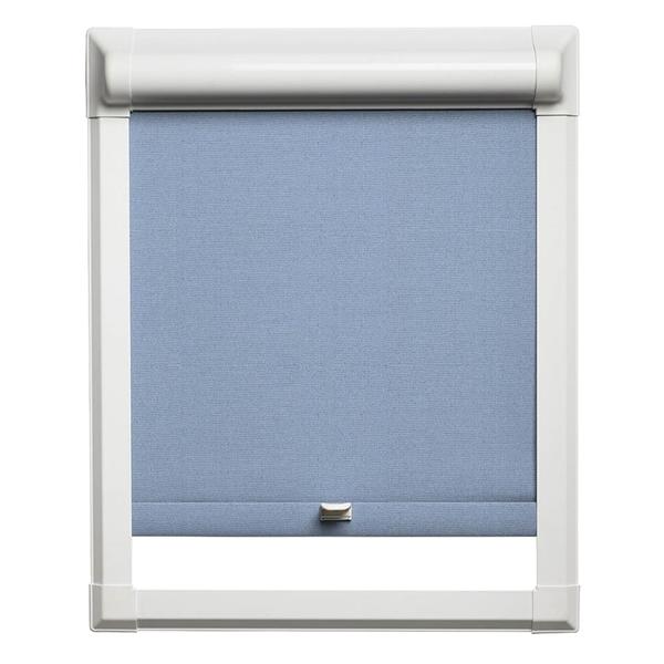 Afbeelding van Rolgordijn klik en klaar smartfit semi-transparant - Licht blauw