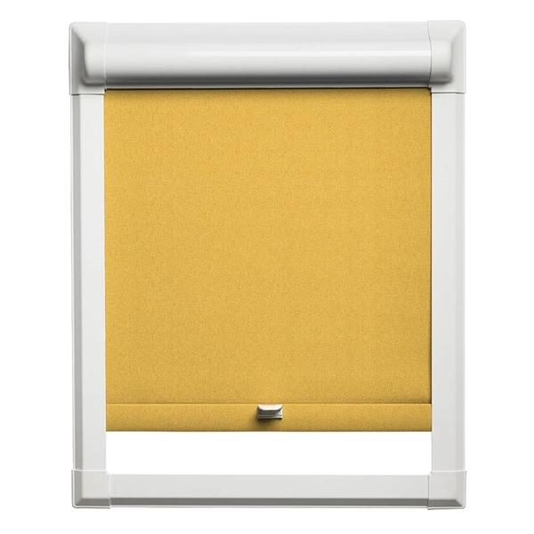 Afbeelding van Rolgordijn klik en klaar smartfit semi-transparant - Geel/Oranje