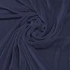 Afbeelding van Vouwgordijn velours op maat vintage blauw - Naples