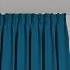 Afbeelding van Dim-out satijn look gordijnen op maat Uni kleur Hemelsblauw - Phoenix