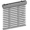 Houten 50mm jaloezieen Licht grijs - Solux Basic Wood