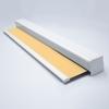 Afbeelding van Rolgordijn op maat Cassette vierkant - Geel donker chiquita Verduisterend