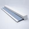 Afbeelding van Luxe rolgordijn cassette vierkant - Licht blauw macaron Semi transparant