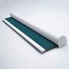 Afbeelding van Rolgordijn op maat Cassette rond - Donkerturquoise Verduisterend