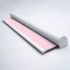 Afbeelding van Rolgordijn op maat Cassette rond - Roze licht macaron Verduisterend