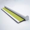 Afbeelding van Rolgordijn op maat Cassette rond - Licht limegroen sol Verduisterend