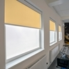 Afbeelding van Rolgordijn op maat Cassette rond - Geel donker chiquita Verduisterend