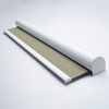 Afbeelding van Rolgordijn met luxe cassette rond - Greige Semi transparant