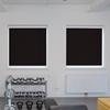 Afbeelding van Rolgordijn met luxe cassette rond - Antraciet bleek design Semi transparant