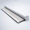 Afbeelding van Rolgordijn met luxe cassette rond - Lichtgrijs lucht Semi transparant