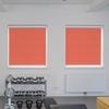 Afbeelding van Rolgordijn met luxe cassette rond - Roze/Rood Semi transparant