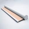 Afbeelding van Rolgordijn met luxe cassette rond - Roze zalm Semi transparant