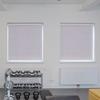 Afbeelding van Rolgordijn met luxe cassette rond - Paars pastel lila Semi transparant