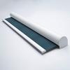 Afbeelding van Verano rolgordijn cassette rond - Luxe zeeblauw Transparant