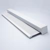Afbeelding van Rolgordijn XL luxe cassette vierkant - Lichtgrijs wolken Semi transparant