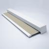 Afbeelding van Rolgordijn brede ramen Cassette vierkant - Beige  ouderwets Transparant