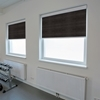 Afbeelding van Rolgordijn brede ramen Cassette vierkant - Zwart Transparant