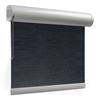 Afbeelding van Rolgordijn op maat XL cassette rond - Donkerblauw grijs Verduisterend