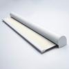 Afbeelding van Rolgordijn XL luxe cassette rond - Crème Semi transparant