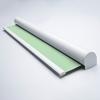 Afbeelding van Rolgordijn XL luxe cassette rond - Pastelgroen Semi transparant
