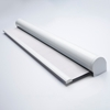 Afbeelding van Rolgordijn XL luxe cassette rond - Wit parel Semi transparant