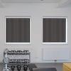 Afbeelding van Rolgordijn brede ramen Cassette rond - Antraciet Transparant