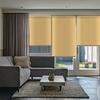 Afbeelding van Rolgordijn op maat Zijsteunen - Geel donker chiquita Verduisterend